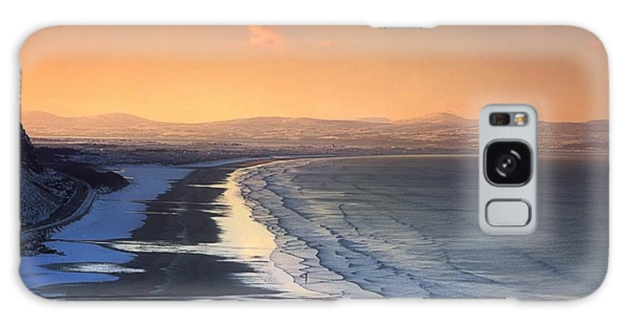 Beauty In Nature Galaxy S8 Case featuring the photograph Downhill Strand, Co Derry, Ireland by The Irish Image Collection