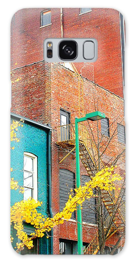 Downtown Galaxy S8 Case featuring the digital art Downtown by Lizi Beard-Ward
