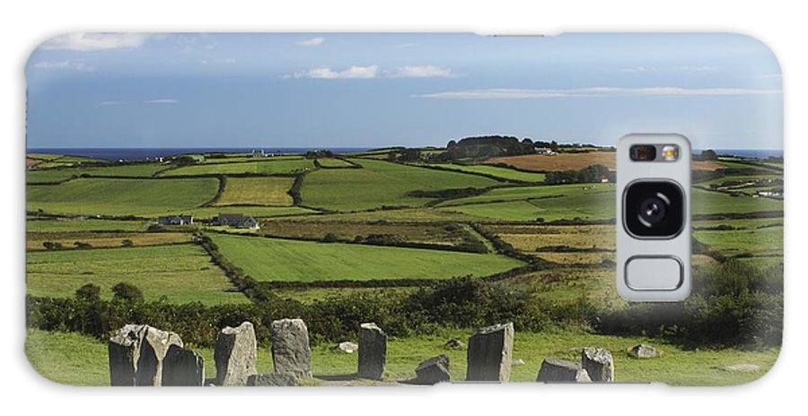Munster Province Galaxy S8 Case featuring the photograph Drombeg Stone Circle Near Glandore In by Trish Punch