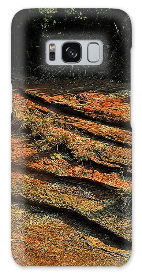 Landscape Galaxy S8 Case featuring the photograph Dry River Country by Louis Nugent