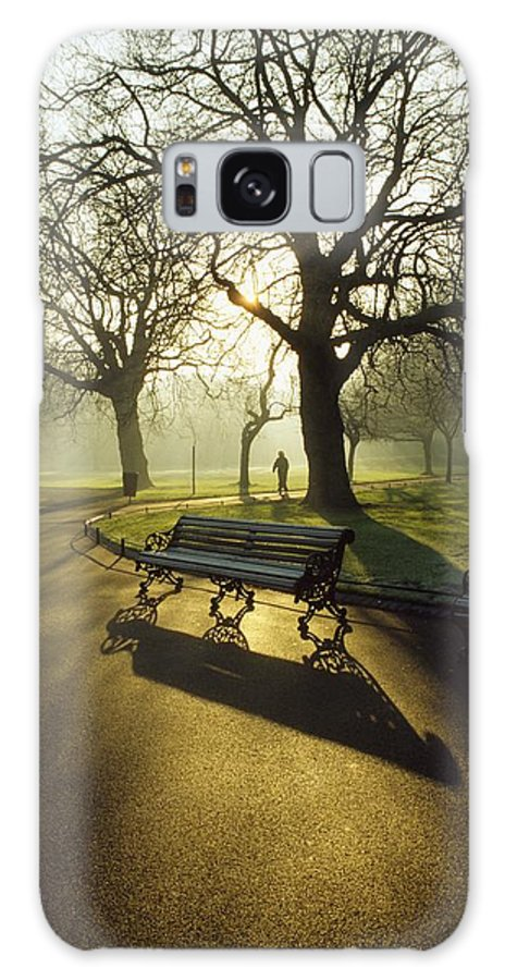 Autumn Galaxy S8 Case featuring the photograph Dublin - Parks, St. Stephens Green by The Irish Image Collection