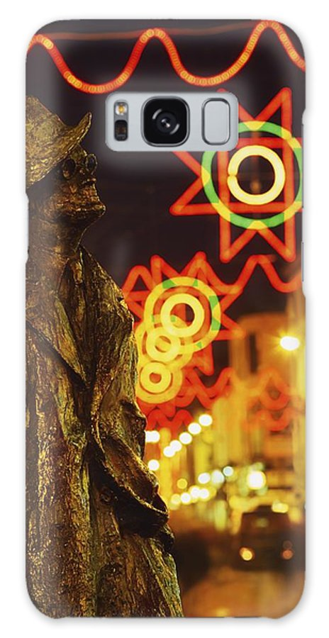 Color Galaxy S8 Case featuring the photograph Dublin, Co Dublin, Ireland Sculpture Of by The Irish Image Collection