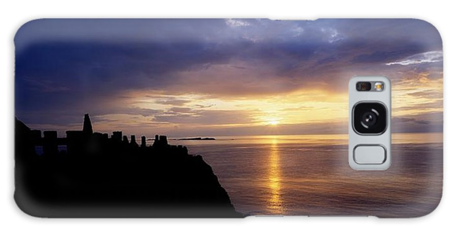 Antrim Galaxy S8 Case featuring the photograph Dunluce Castle At Sunset, Co Antrim by The Irish Image Collection