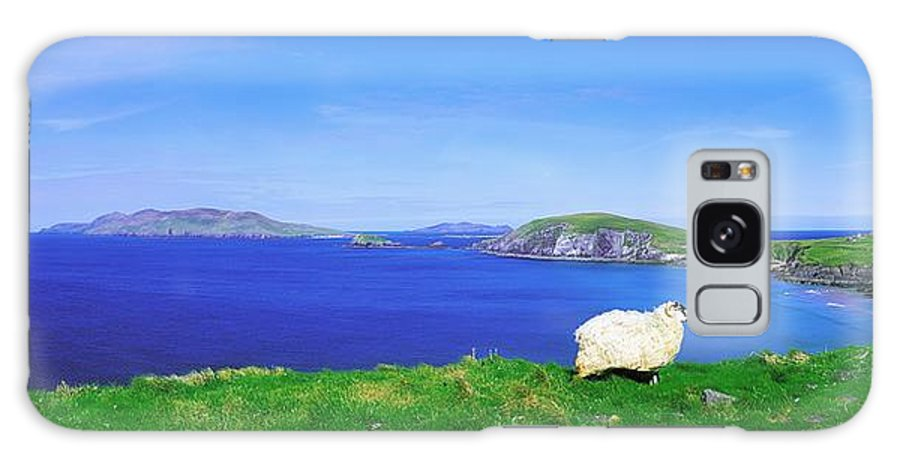 Beauty In Nature Galaxy S8 Case featuring the photograph Dunmore Head, Blasket Islands, Dingle by The Irish Image Collection