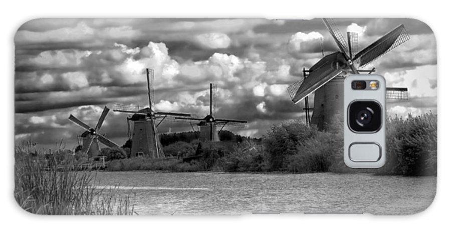 Windmill Galaxy S8 Case featuring the photograph Dutch Windmills by Francesco Riccardo Iacomino