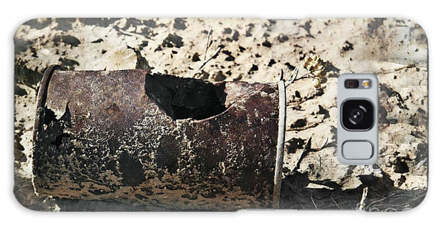 Art Galaxy S8 Case featuring the photograph E V I D E N C E by Charles Dobbs