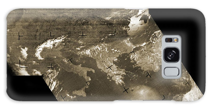 Europe Galaxy S8 Case featuring the photograph Early Weather Satellite Images by Detlev Van Ravenswaay