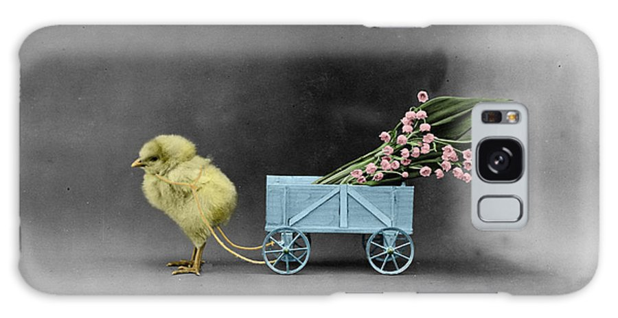 Chick Galaxy S8 Case featuring the photograph Easter Chick by Andrew Fare
