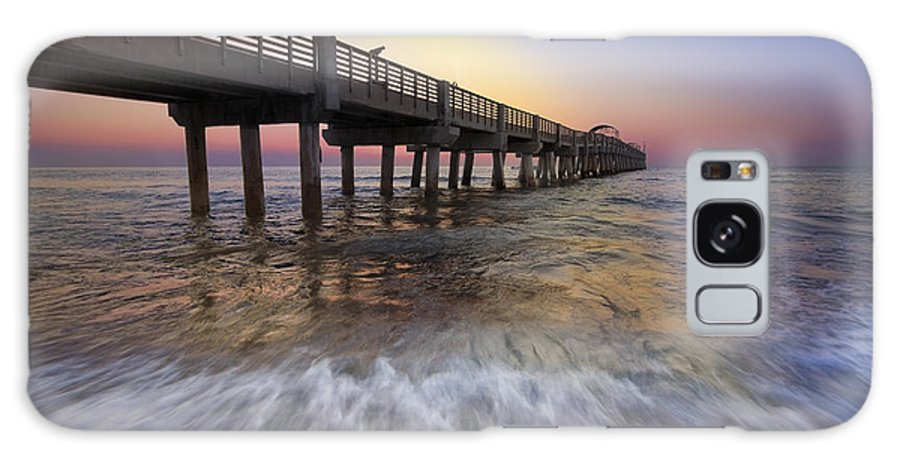 Clouds Galaxy S8 Case featuring the photograph Eastern Glow by Debra and Dave Vanderlaan