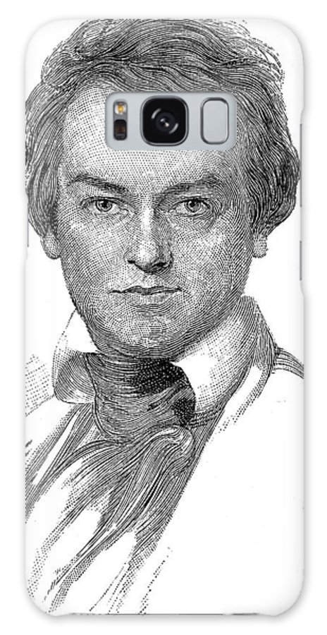 1835 Galaxy S8 Case featuring the photograph Edwin Forrest (1806-1872) by Granger
