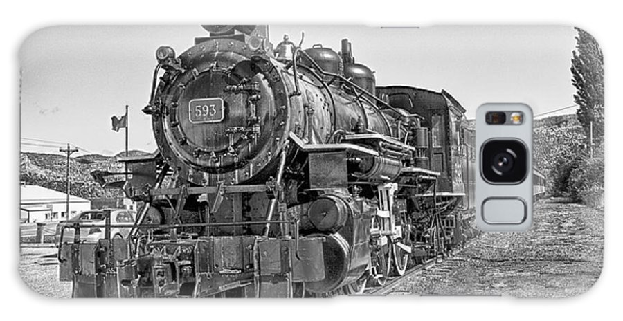 Train Galaxy S8 Case featuring the photograph Engine 593 by Eunice Gibb