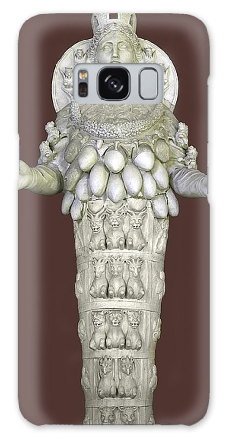 2nd Century Ad Galaxy S8 Case featuring the photograph Ephesian Statue Of Artemis by Sheila Terry