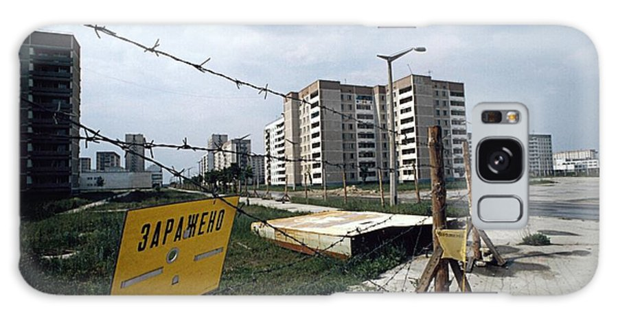 House Galaxy S8 Case featuring the photograph Evacuated Town Near Chernobyl, Ukraine by Ria Novosti