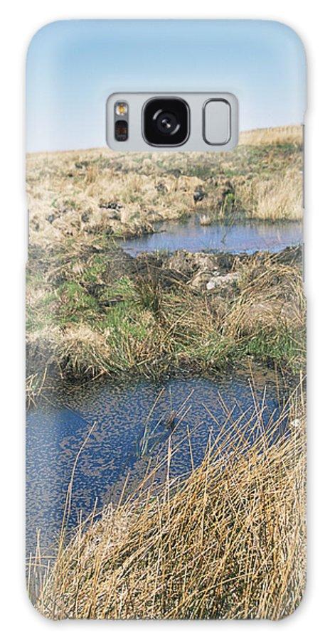 Pool Galaxy S8 Case featuring the photograph Exmoor Blanket Bog by David Aubrey