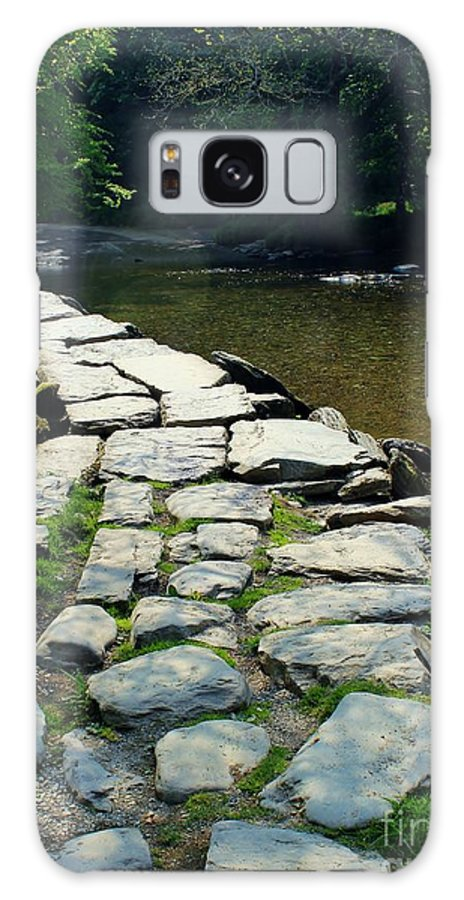 Foot Bridge Galaxy S8 Case featuring the photograph Exmoor National Park Crossing Bridge by Rene Triay Photography