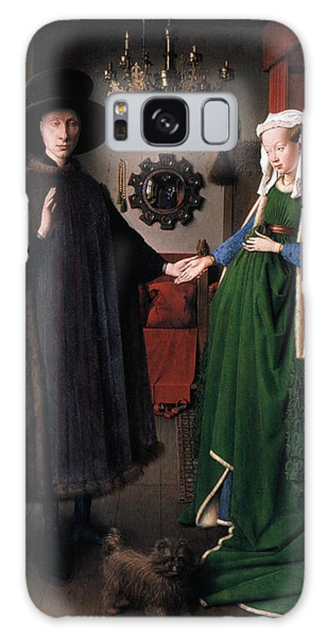 1434 Galaxy S8 Case featuring the photograph Eyck: Arnolfini Marriage by Granger