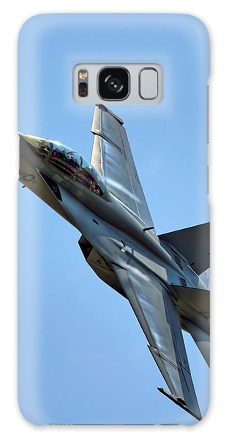 F18 Hornet Galaxy S8 Case featuring the photograph F-18 Hornet by Alan Hutchins