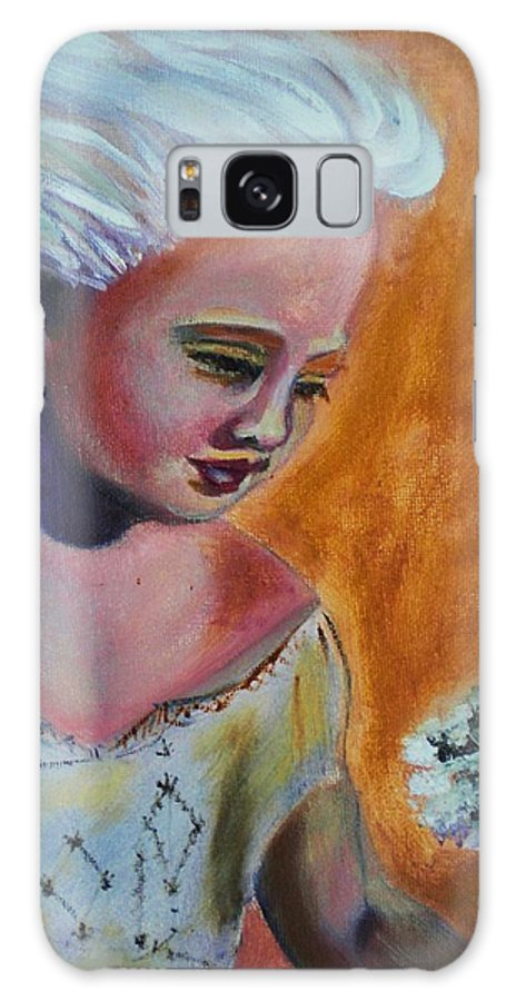 Faeries Galaxy S8 Case featuring the painting Faeryland by Yesi Casanova