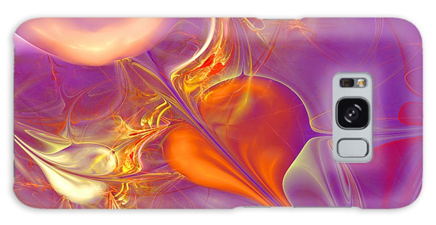 Heart Canvas Prints Galaxy S8 Case featuring the digital art Faithful by Ester Rogers