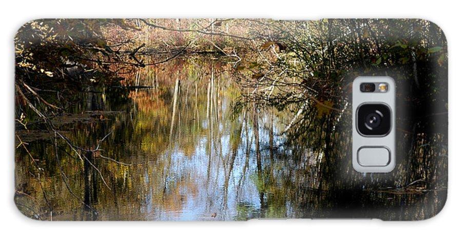 Usa Galaxy S8 Case featuring the photograph Fall River Undertones by LeeAnn McLaneGoetz McLaneGoetzStudioLLCcom