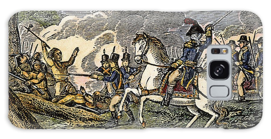 1794 Galaxy S8 Case featuring the photograph Fallen Timbers Battle by Granger