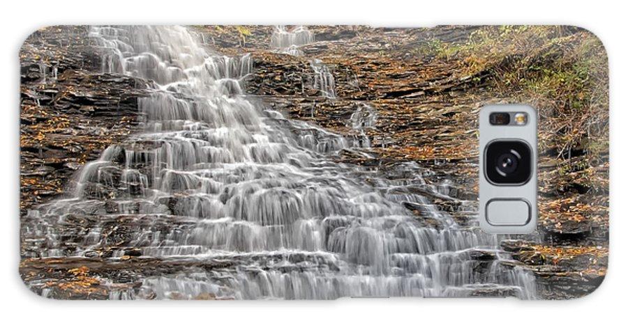Fl Ricketts Waterfall Galaxy S8 Case featuring the photograph Falls Color Palette by Susan Candelario