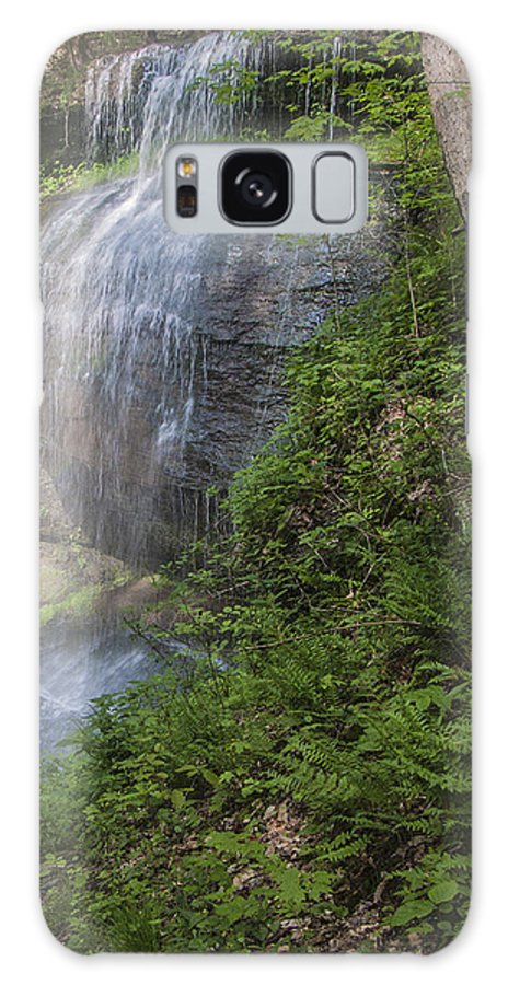 Waterfalls Galaxy S8 Case featuring the photograph Falls Two by Scott Rhoads