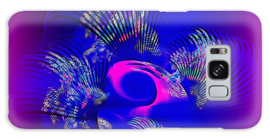 Fan Galaxy S8 Case featuring the digital art Fan by Klara Acel
