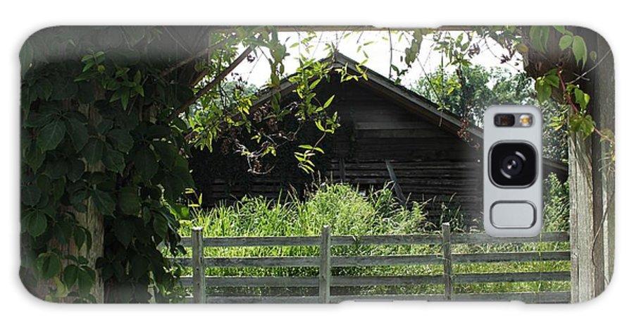 Farmyard Galaxy S8 Case featuring the photograph Farmyard Frame by Theresa Willingham