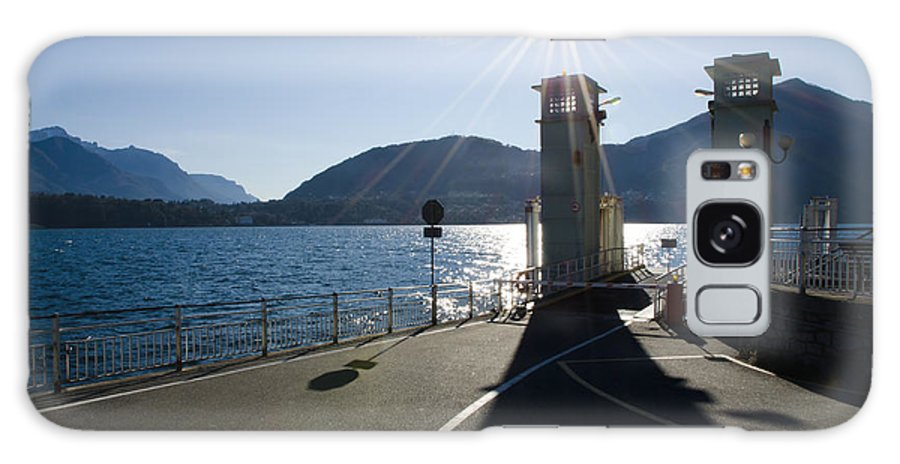 Ferry Port Galaxy S8 Case featuring the photograph Ferry Harbour by Mats Silvan