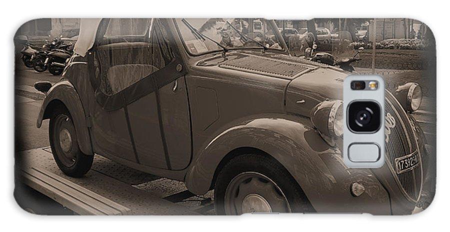 Italian Galaxy S8 Case featuring the photograph Fiat Dream Car by Caroline Stella