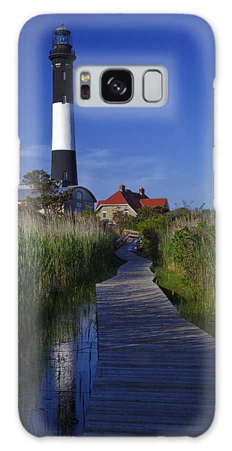 Reflection Galaxy S8 Case featuring the photograph Fire Island Reflection by Rick Berk