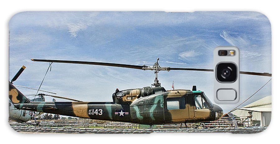 Bell Uh-1 Huey Galaxy S8 Case featuring the photograph Firebase Charlie Romeo by Tommy Anderson