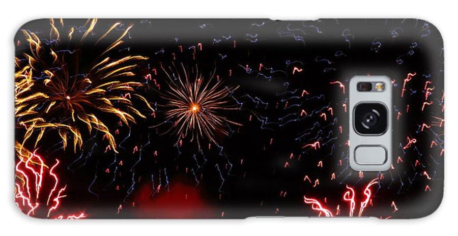 Oshkosh Galaxy S8 Case featuring the photograph Fireworks At Oshkosh Airventure 2012. 01 by Ausra Huntington nee Paulauskaite