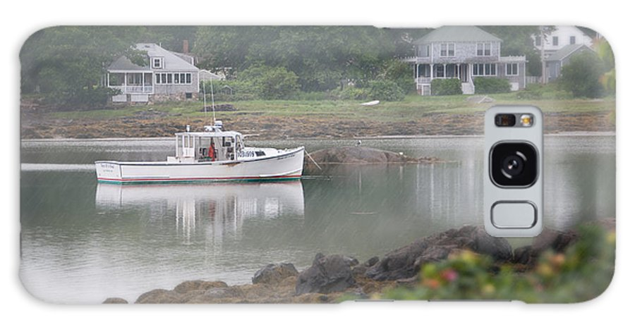 Lake Galaxy S8 Case featuring the photograph Fishing Boat Kennebunkport Maine by Anne Kitzman