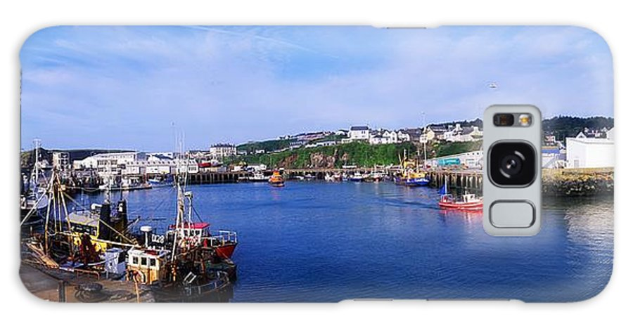 Boats Galaxy S8 Case featuring the photograph Fishing Harbour, Dunmore East, Ireland by The Irish Image Collection