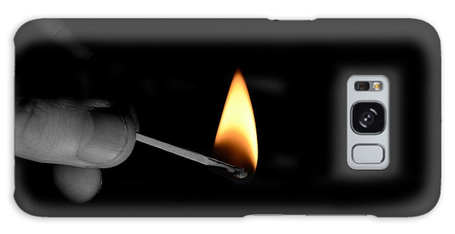 Light Galaxy S8 Case featuring the photograph Flame by La Dolce Vita