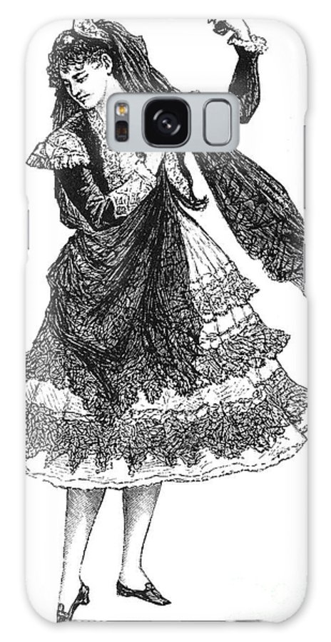 19th Century Galaxy S8 Case featuring the photograph Flamenco Dancer by Granger