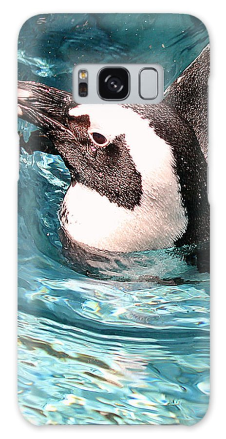Penguin Galaxy S8 Case featuring the photograph Float by Elizabeth Hart