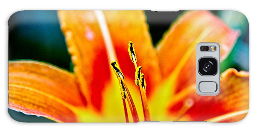 Galaxy S8 Case featuring the photograph Flower 28 by Burney Lieberman