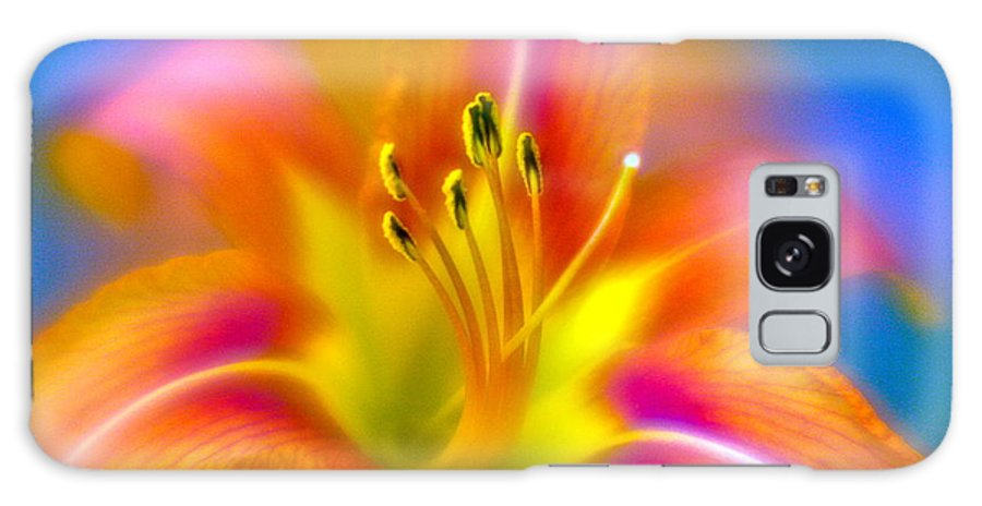Galaxy S8 Case featuring the photograph Flower 30 by Burney Lieberman
