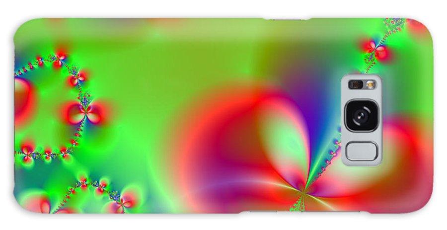Fractal Galaxy S8 Case featuring the digital art Flower Field by Ester Rogers