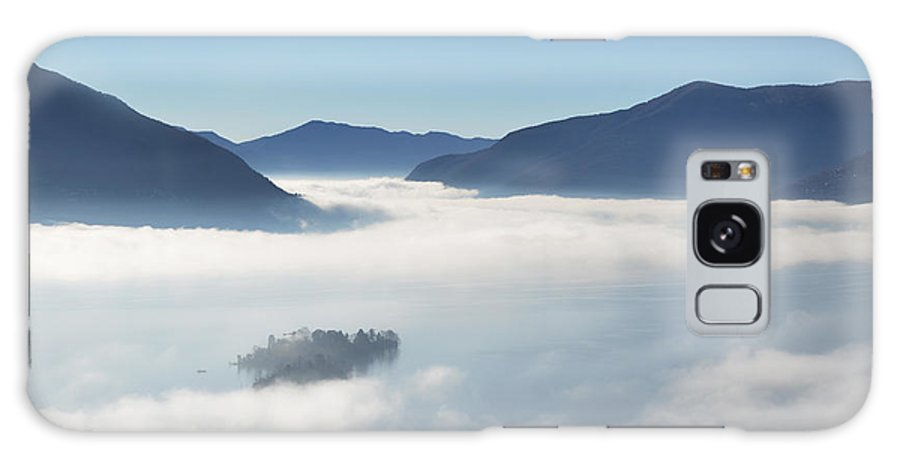 Fog Galaxy S8 Case featuring the photograph Fog Over Islands by Mats Silvan