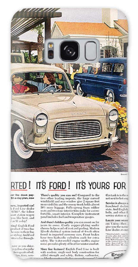 1959 Galaxy S8 Case featuring the photograph Ford Avertisement, 1959 by Granger
