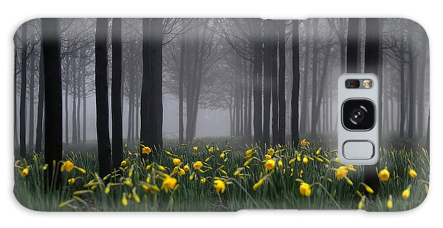 Forest Galaxy S8 Case featuring the photograph Forest Daffodils by Andy Linden