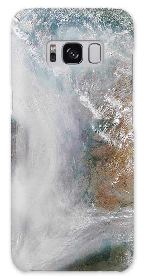 Andes Galaxy S8 Case featuring the photograph Forest Fires In South America by Nasa