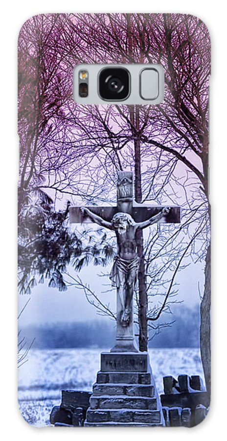Religion Galaxy S8 Case featuring the photograph Forgiveness by Linda Tiepelman