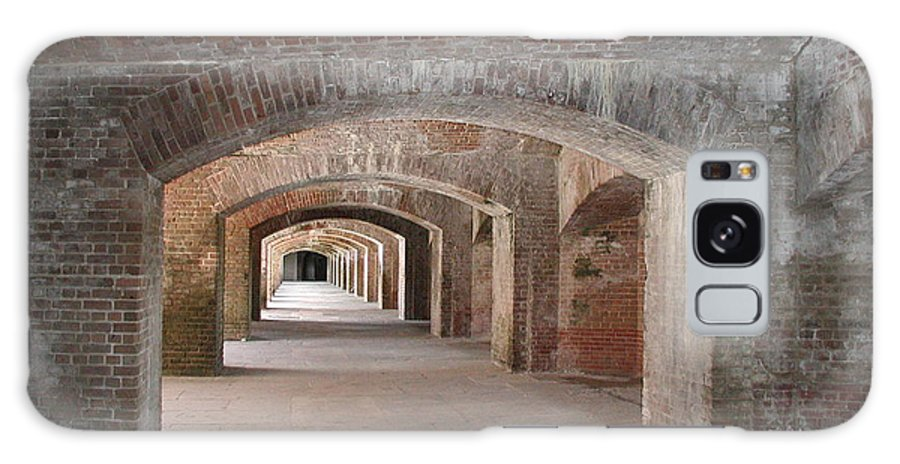 Fort Galaxy S8 Case featuring the photograph Fort Jefferson by Nancy Taylor