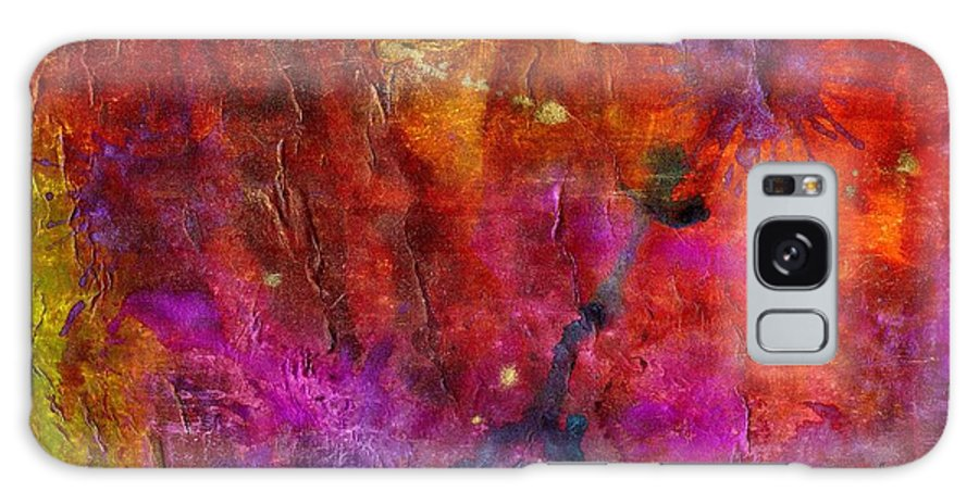 Acrylic Galaxy S8 Case featuring the painting Fourth Of July 2012 by Angela L Walker