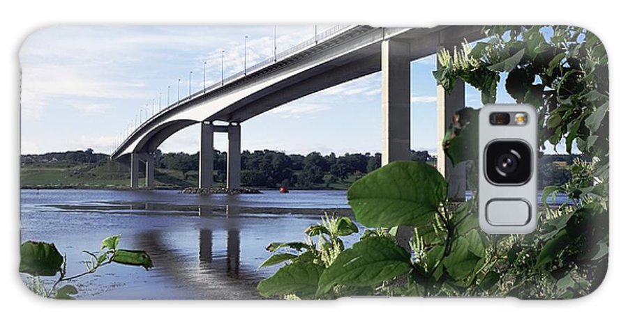 Architecture Galaxy S8 Case featuring the photograph Foyle Bridge, Derry City, Co by The Irish Image Collection
